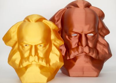 Karl Marx als Maske